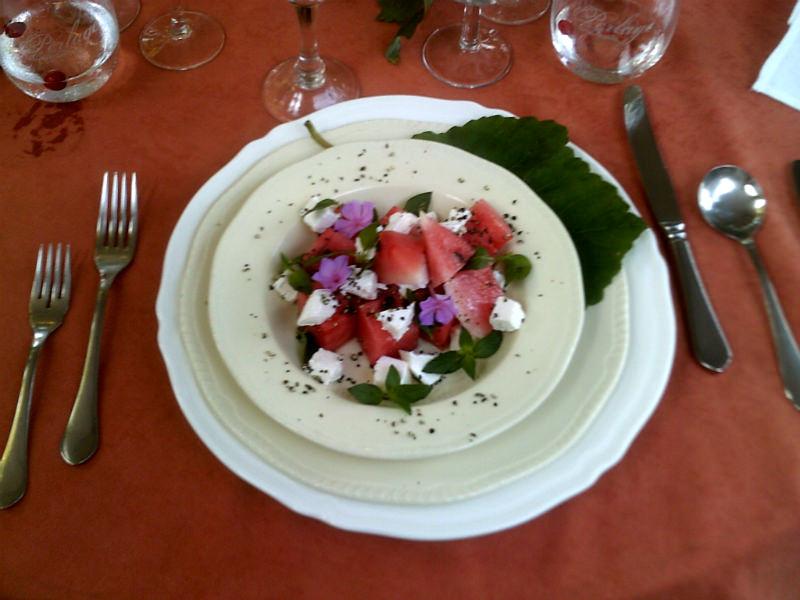 Toga Watermelon Salad