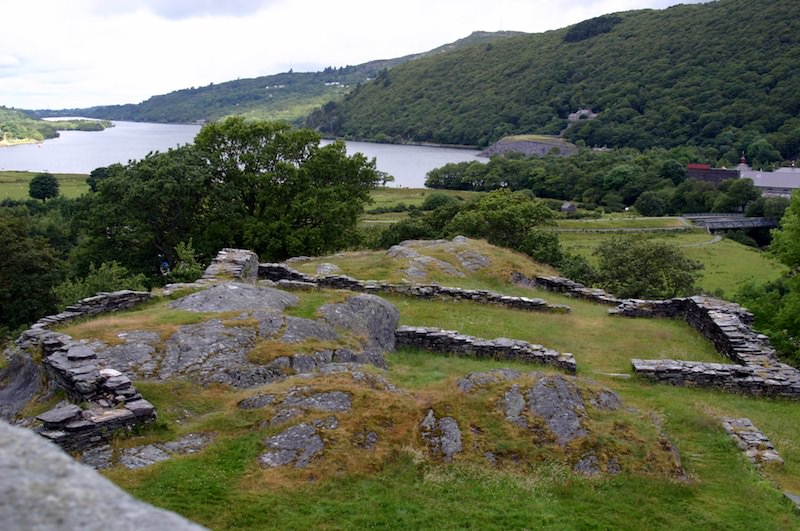 View from Dolbadarn's Tower by Carrie Uffindell