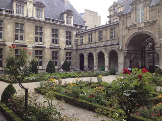 Garden of the Musee Carnavalet