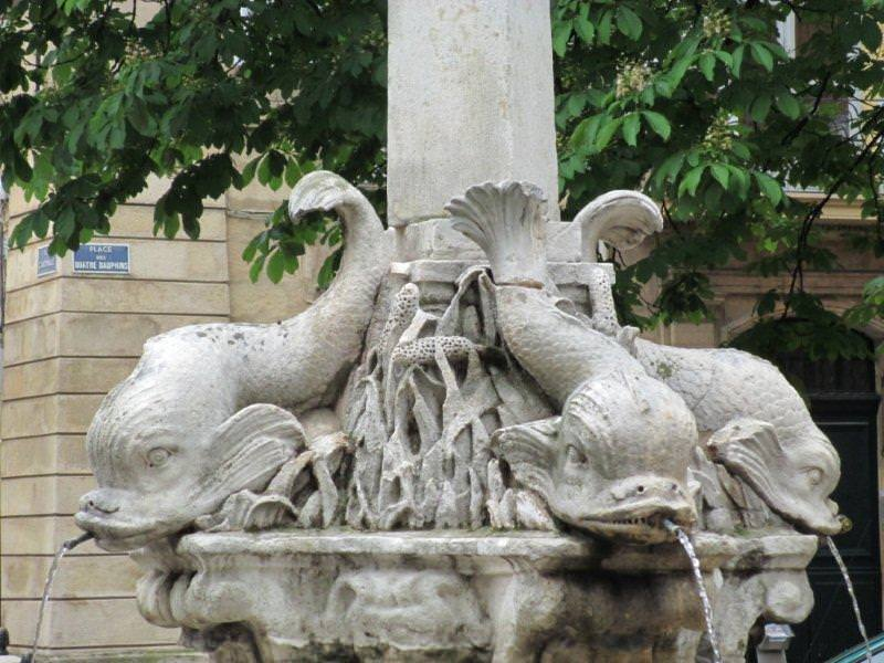 Fountain of the four Dolphins, Aix en Provence