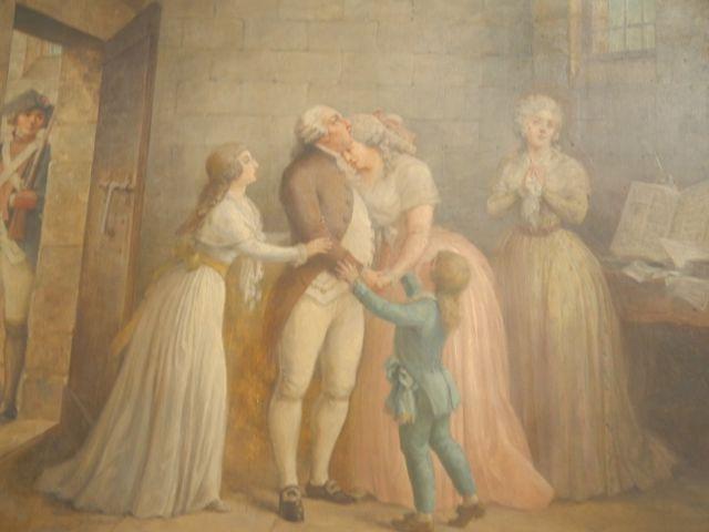 """""""Les Adieux de Louis XVI a sa famille, 20 janvier 1793"""""""