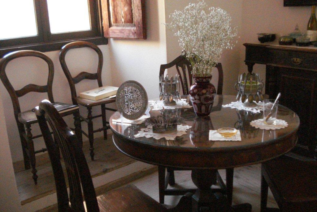 Venetian Museum dining room