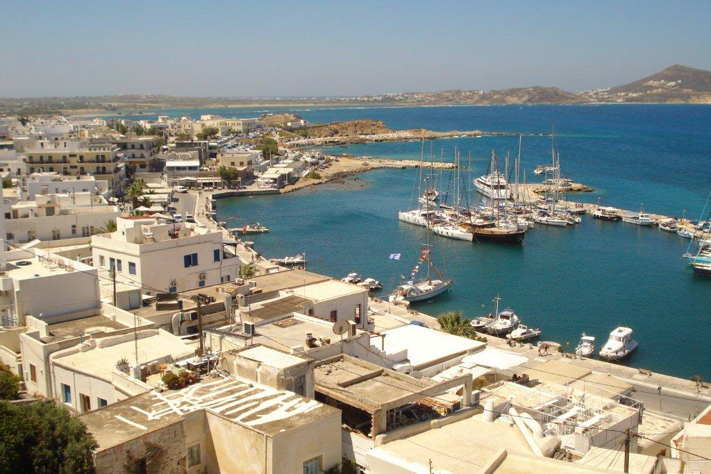 View of Naxos