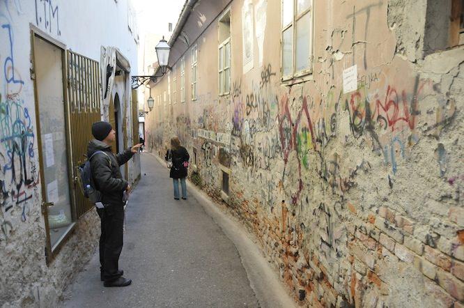 Zagreb Alleyway
