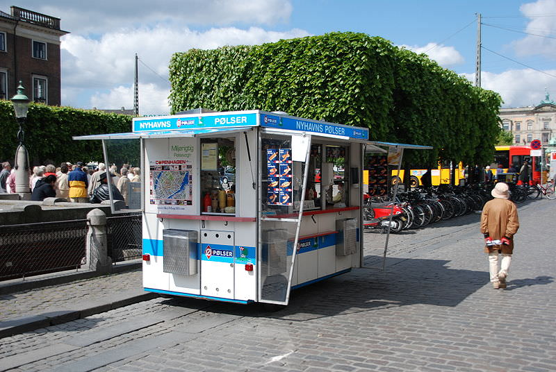 Copenhagen Hot Dog Stand