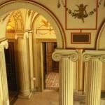 interior hallway Schliemann House