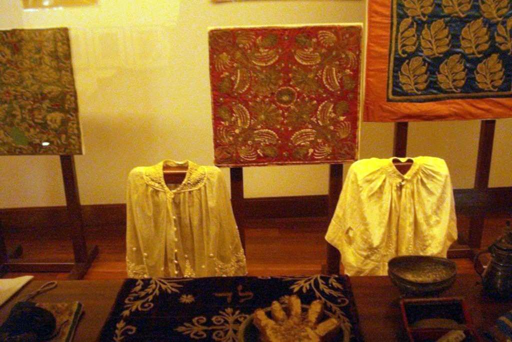 Needlework at Athens' Jewish Museum
