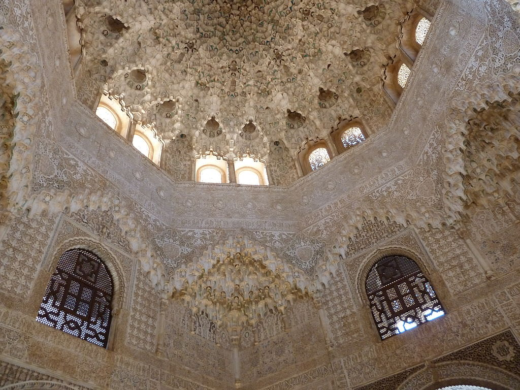 Ceiling_in_Alhambra