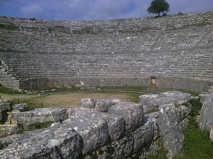 Amphitheater in Dodoni