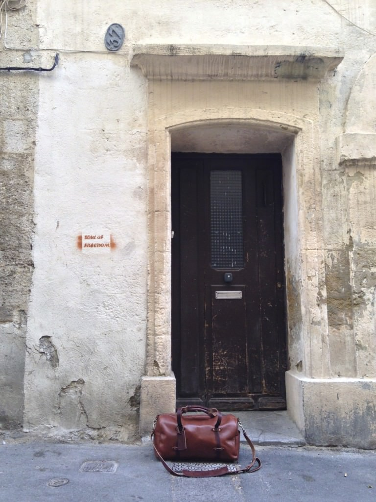 Entrance to our Apartment