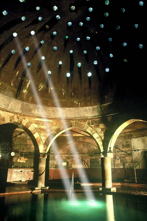 The Rudas Baths are authentically Turkish and over 500 years old