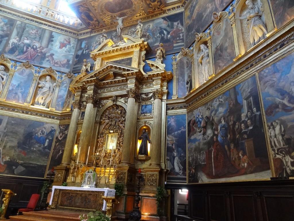 The lush interior of La Rotonda in Rovigo