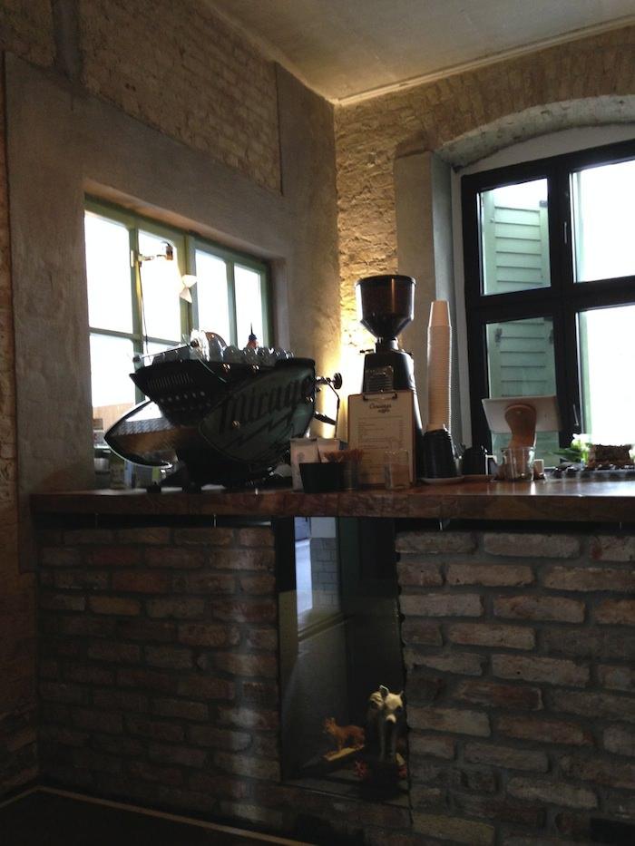 Concierge coffee interior