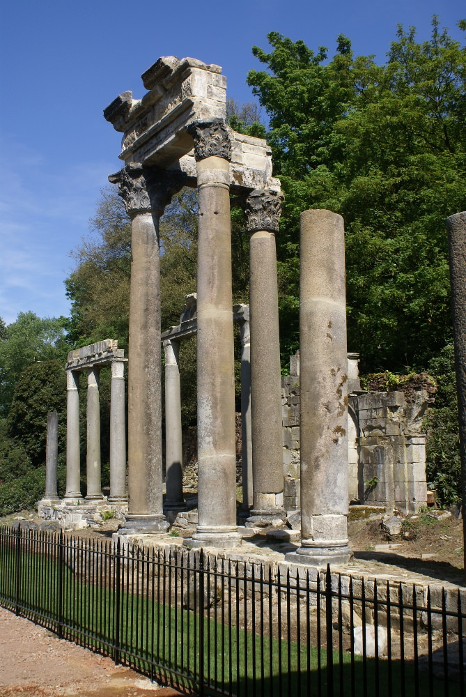 The Roman Ruins of Leptis Magna at Virginia Water