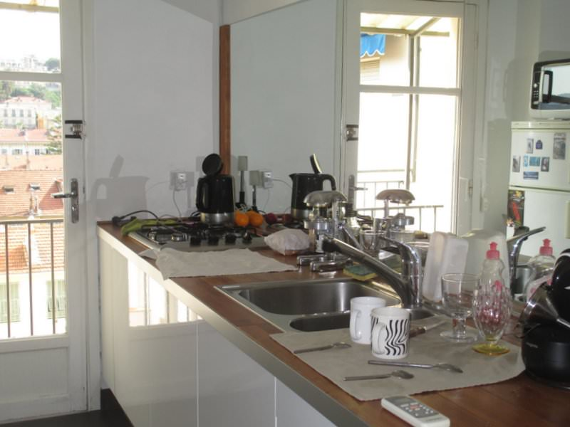 Kitchen in Nice apartment