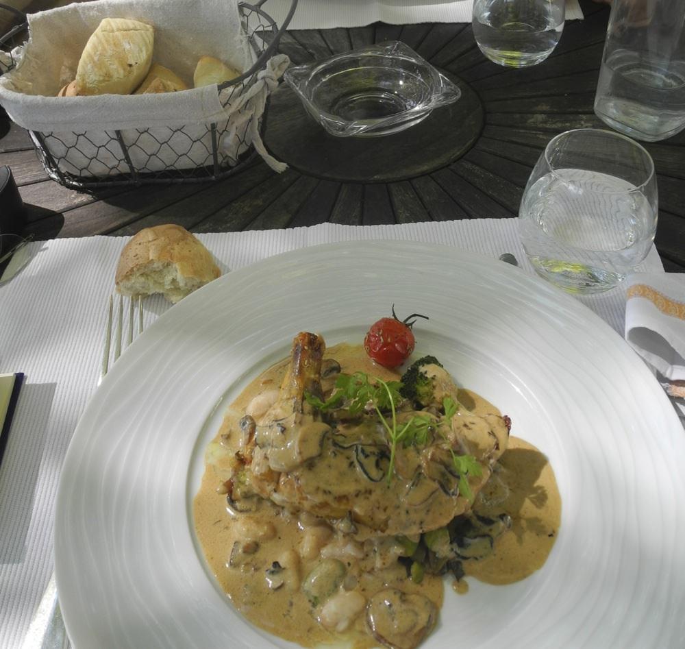 Dinner at La Cigogne