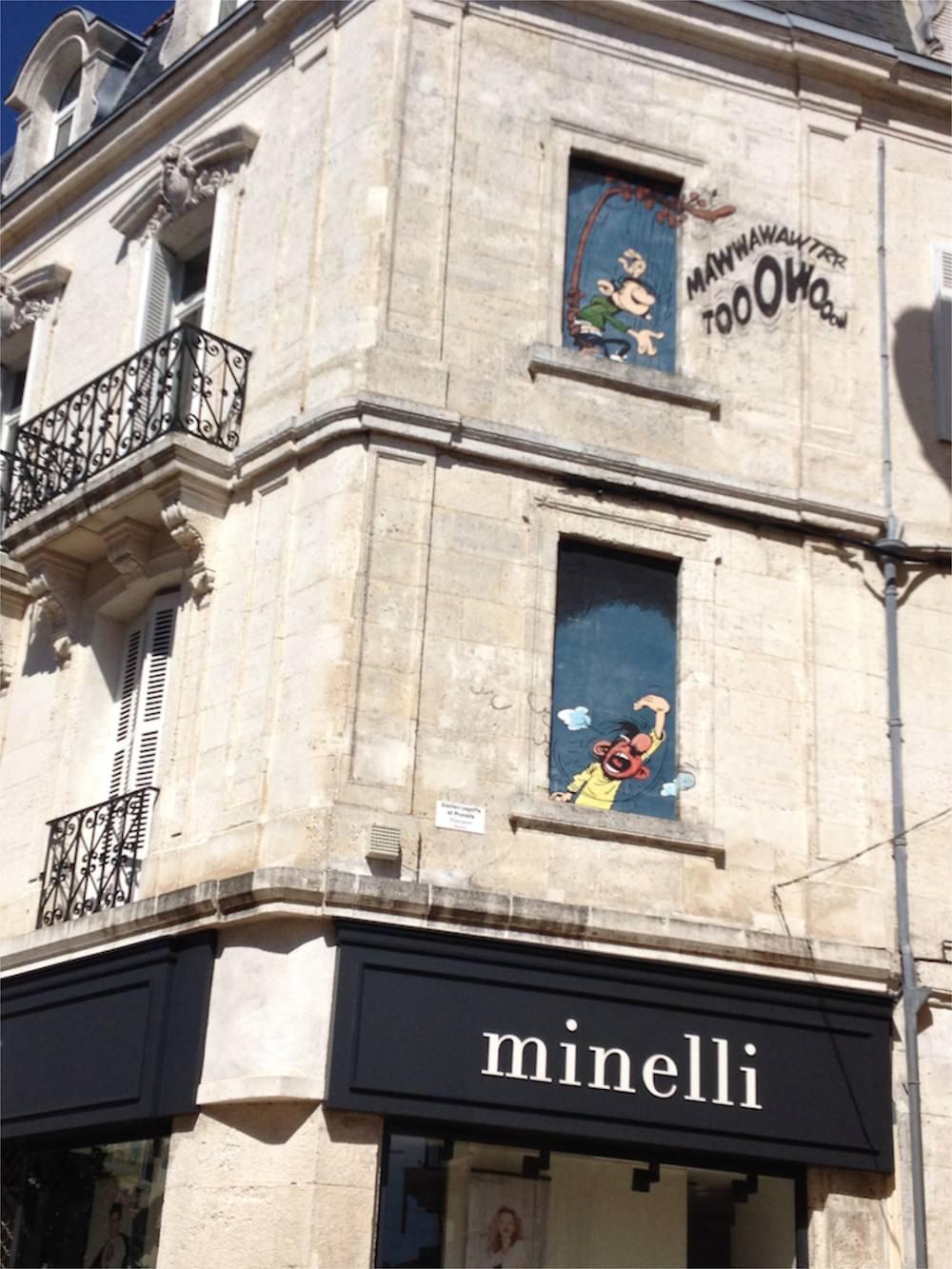 Angouleme Mural