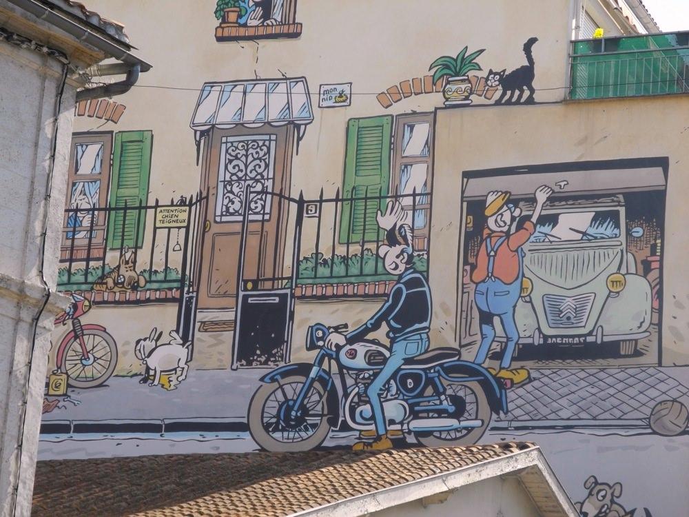 Motorbike Mural