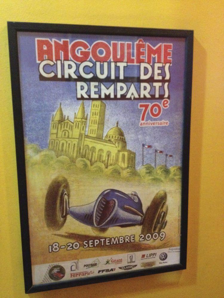 Circuit des Remparts Poster