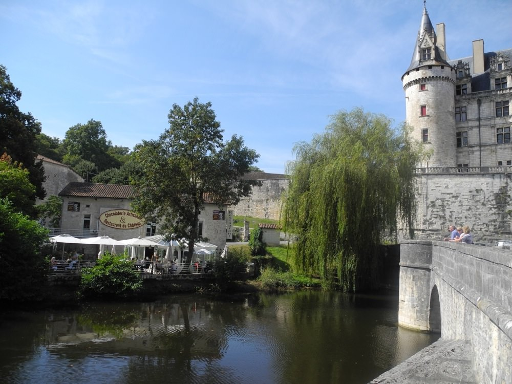 Restaurant at Chateau Rochefoucauld