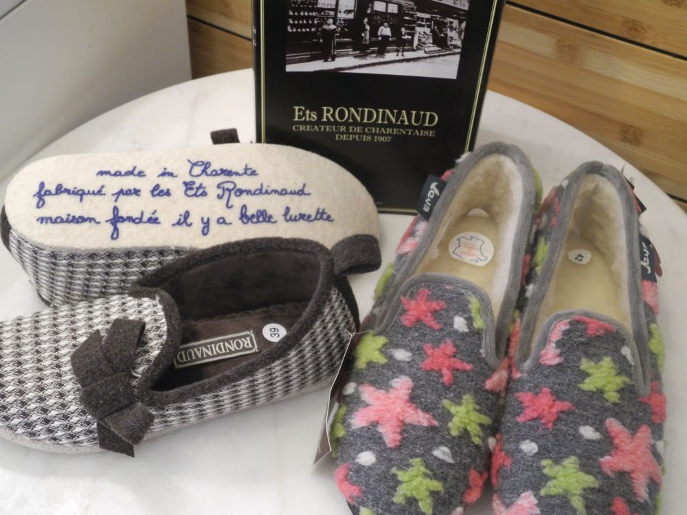 Les charentaises -silent slippers
