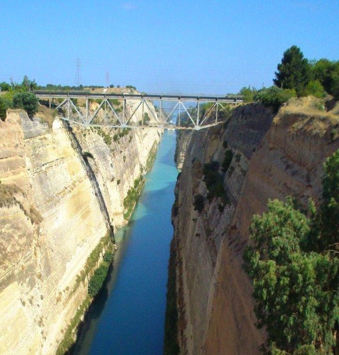 The Bridge over the Corinth Canal