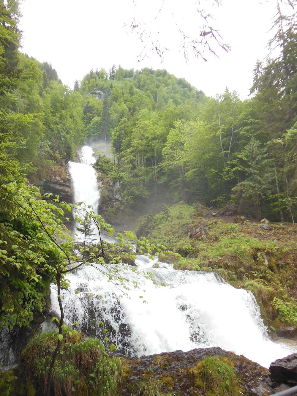 Lots to see along the way, especially Giessbach Waterfall