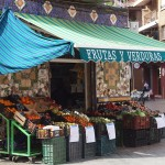 Fruits and vegetables in Benimaclet