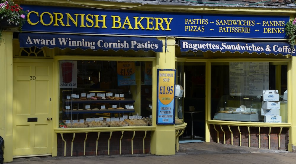 My favorite pasty place: The Cornish Bakery on Coney Street.
