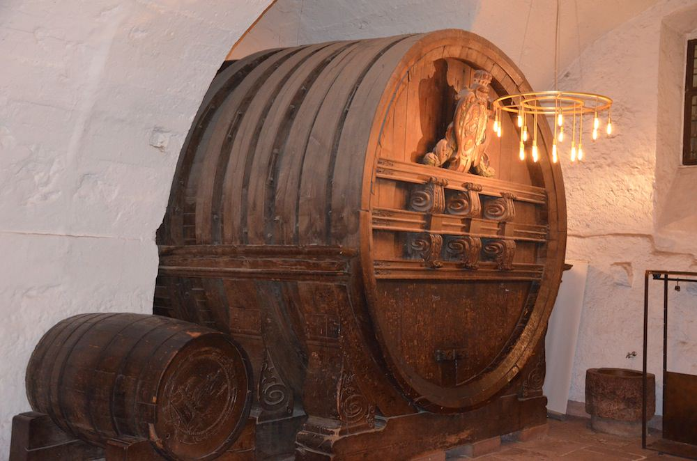 I Gaze in Awe at One Of the Largest Wine Vats in the World—it's Two Stories High
