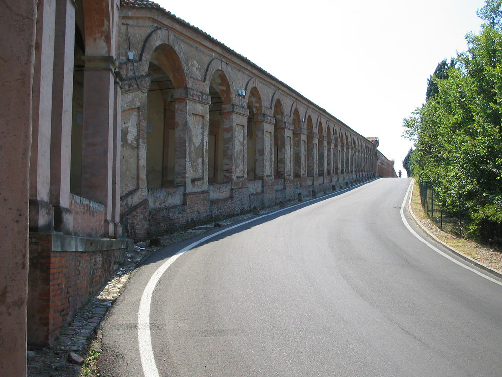 Portico leading to the Sanctuary of San Luca