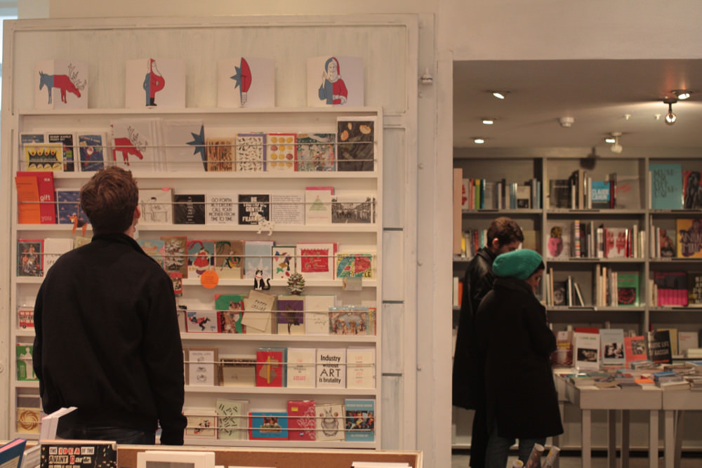 Colourful design meets radical theory at the ICA shop.