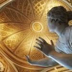 The restored Niobe room, in the Uffizi, represents Roman copies of late Hellenistic art.