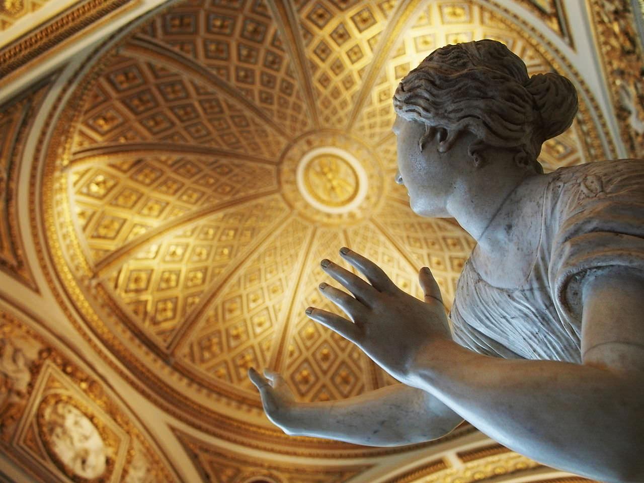 The Restored Niobe Room, in the Uffizi, Represents Roman Copies of Late Hellenistic Art – Wikipedia