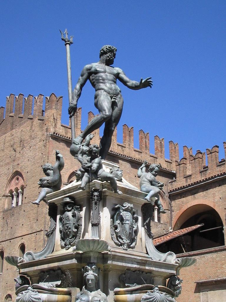 Statue of Neptune, by Giambologna