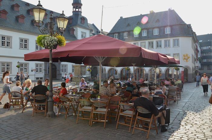 Pedestrian friendly Koblenz
