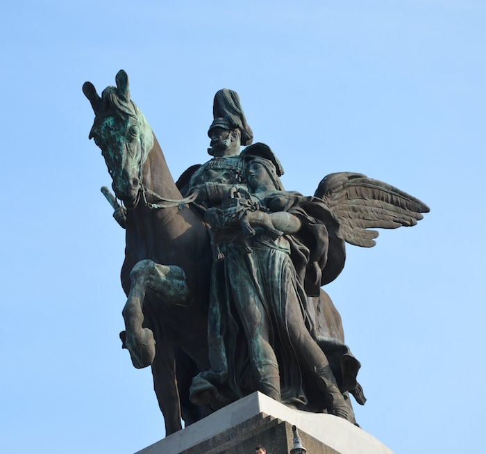 Bronze statue of Kaiser Wilhelm I