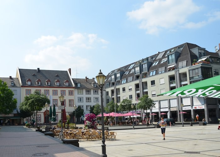 The Munzplatz. Enticing Aromas of Pastries and Coffee Waft Past My Nose as I Walk Through.