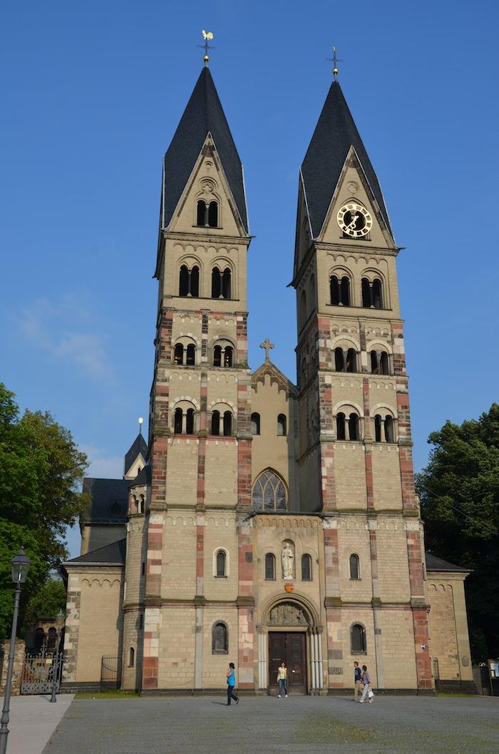 The Twin Towers of Basilika St Castor