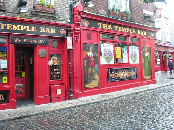 Another view of Temple Bar