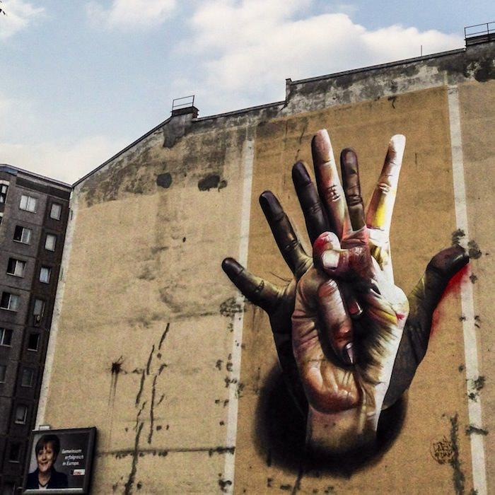 Graffiti, Mitte