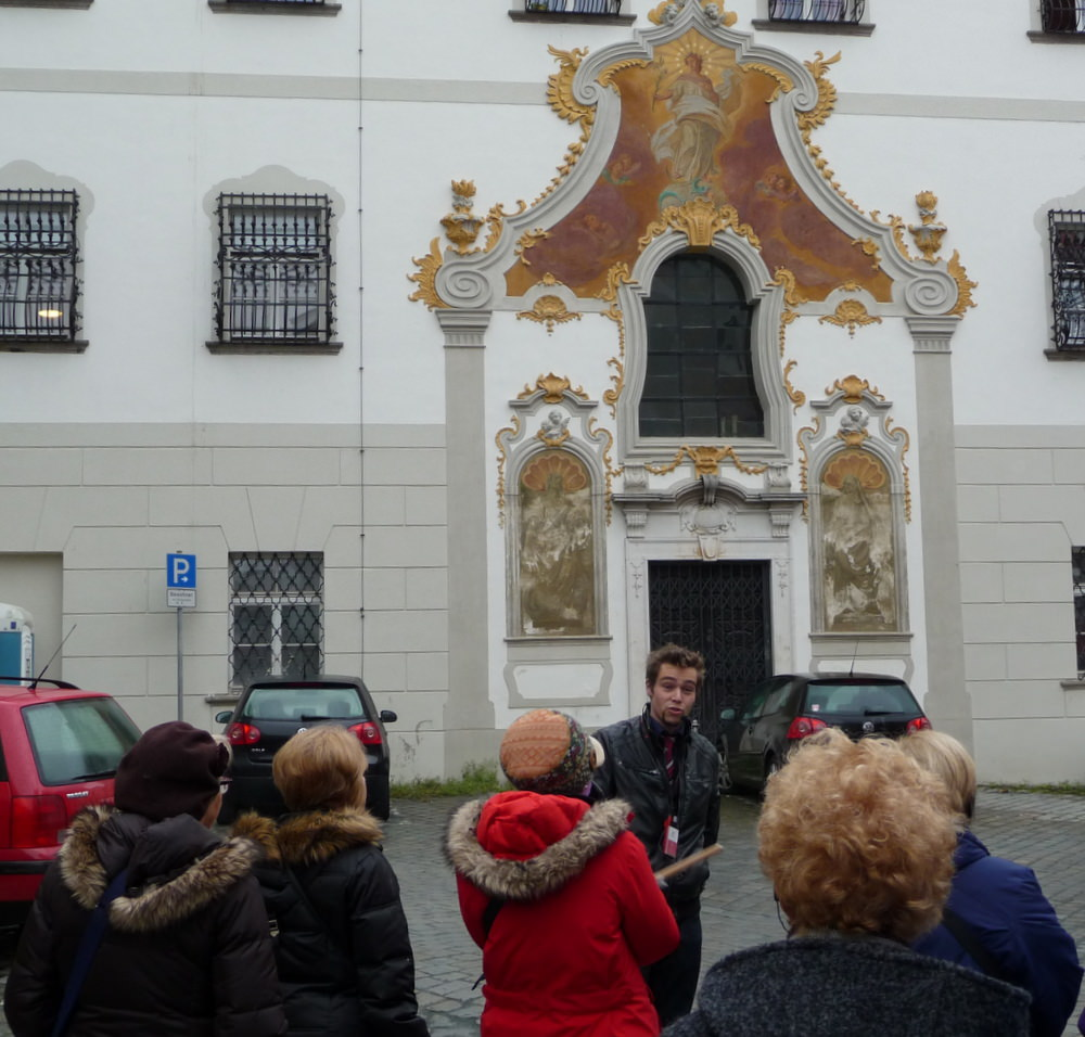 Our guide in Passau on our Christmas market cruise