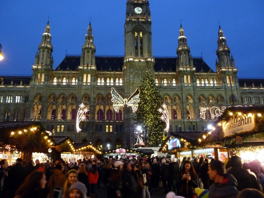 The We saw Vienna on out Christmas Market cruise