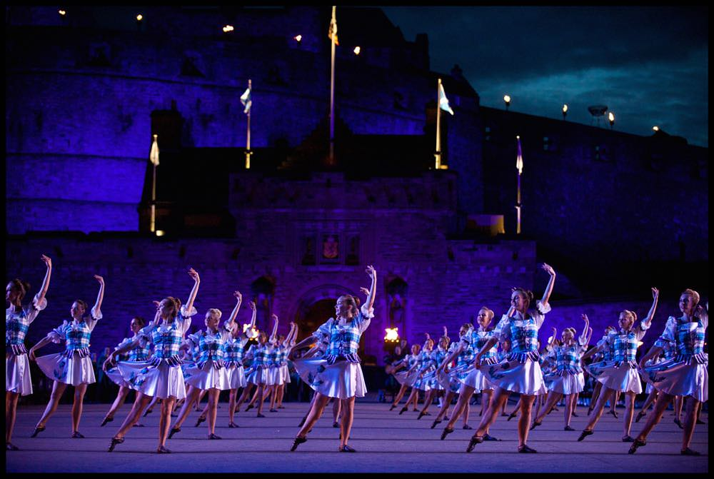 Tattoo Highland Dancers - Photo-courtesy of the Royal Edinburgh Military Tattoo.