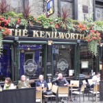 the Kenilworth, one of Rose Street's most popular bars, named after a novel by Sir Walter Scott