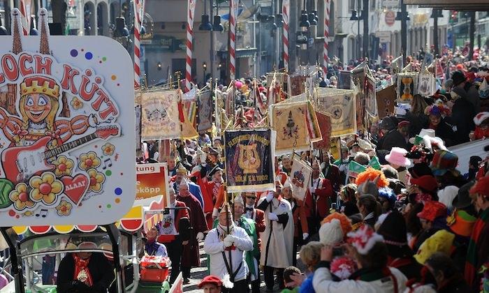 Carnival in Cologne, Germany
