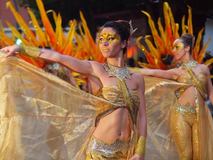 Las Fallas - The procession of fire