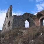 he ruined state of the castle is due to an apparently accidental explosion during 1848-49