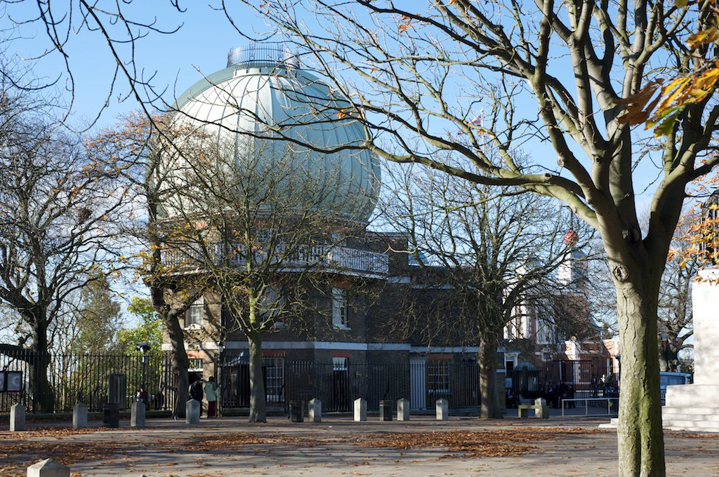 The Royal Observatory on the hill in Greenwich Park