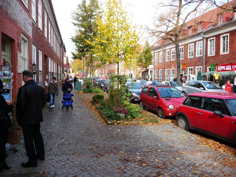 The charming Dutch Quarter